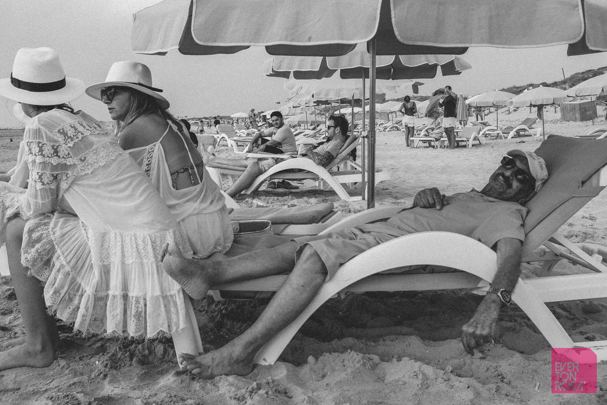praia Ibiza casal