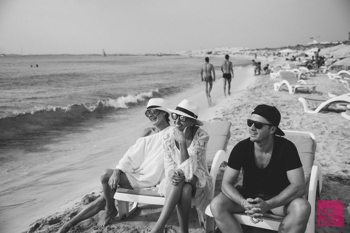 casal ensaio praia Ibiza