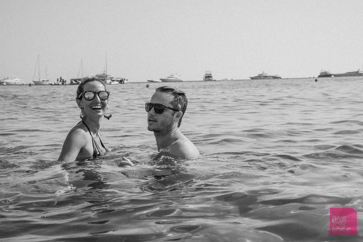 noivo praia mar Ibiza