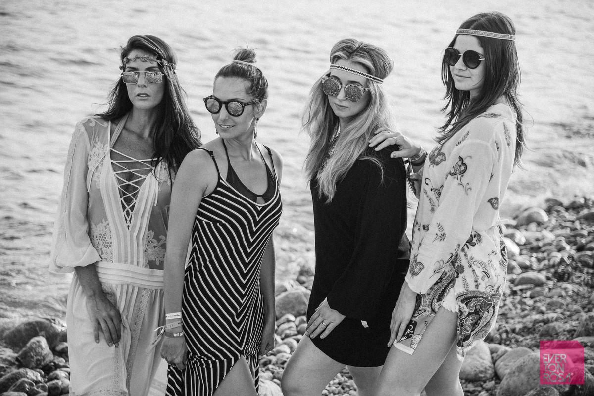 mulheres Ibiza Espanha
