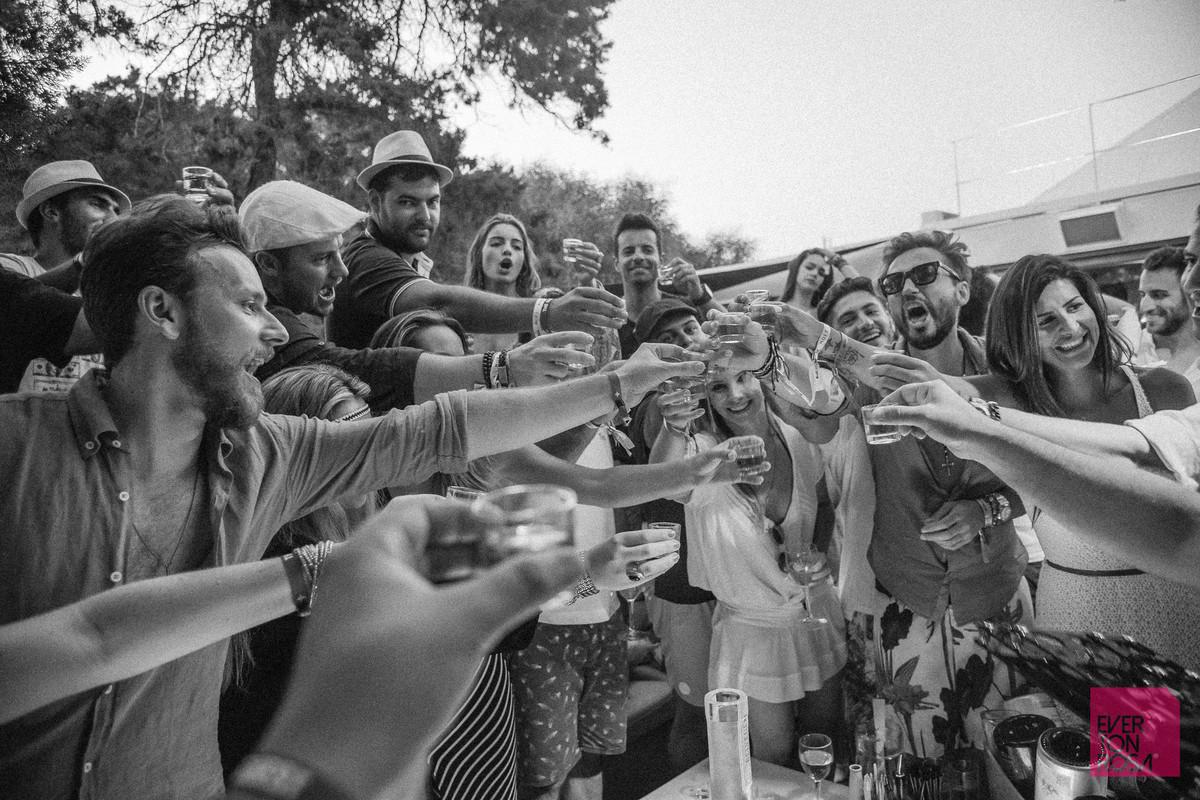 Ibiza Espanha festa casamento bebida