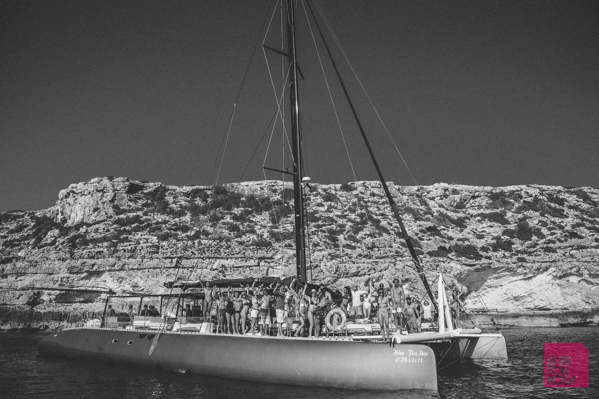 barco Ibiza Espanha
