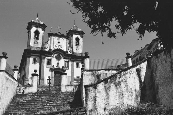 Fotografia Analógica de Viagem a cidade de Ouro Preto - MG - Fevereiro de 2015