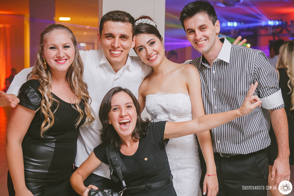 Os noivos mais lindos em uma só foto