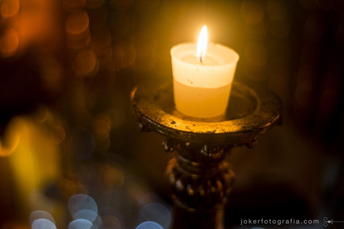 decoração de casamento a luz de velas é a mais bonita de todas
