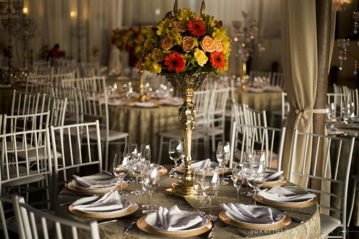 quantos convidados colocar em cada mesa para o jantar de casamento