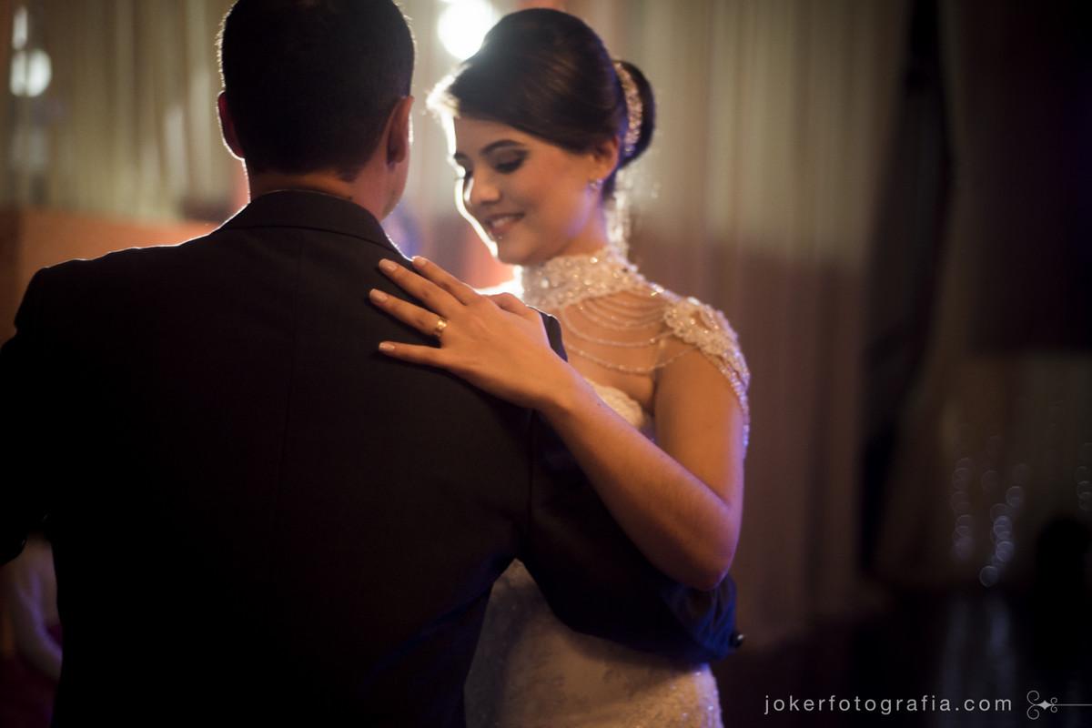 valsa dos noivos no casamento de fernanda e leandro