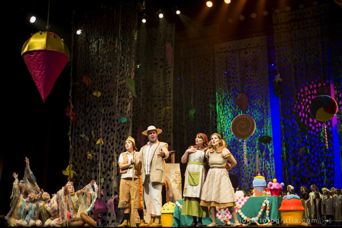 Ditirambo Eventos Culturais traz ao Teatro Guaíra o musical João e Maria (Hansel and Gretel)