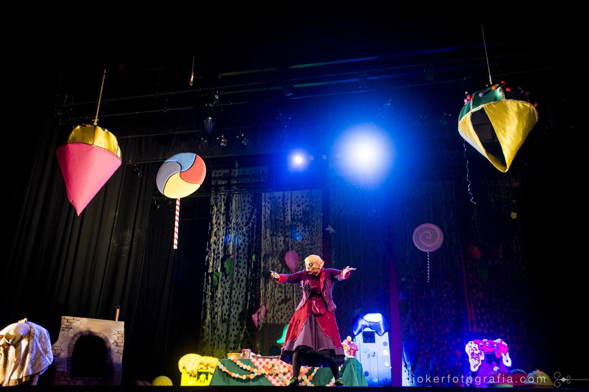 Ditirambo traz teatro infantil para o Guaíra com apresentação de ópera para crianças