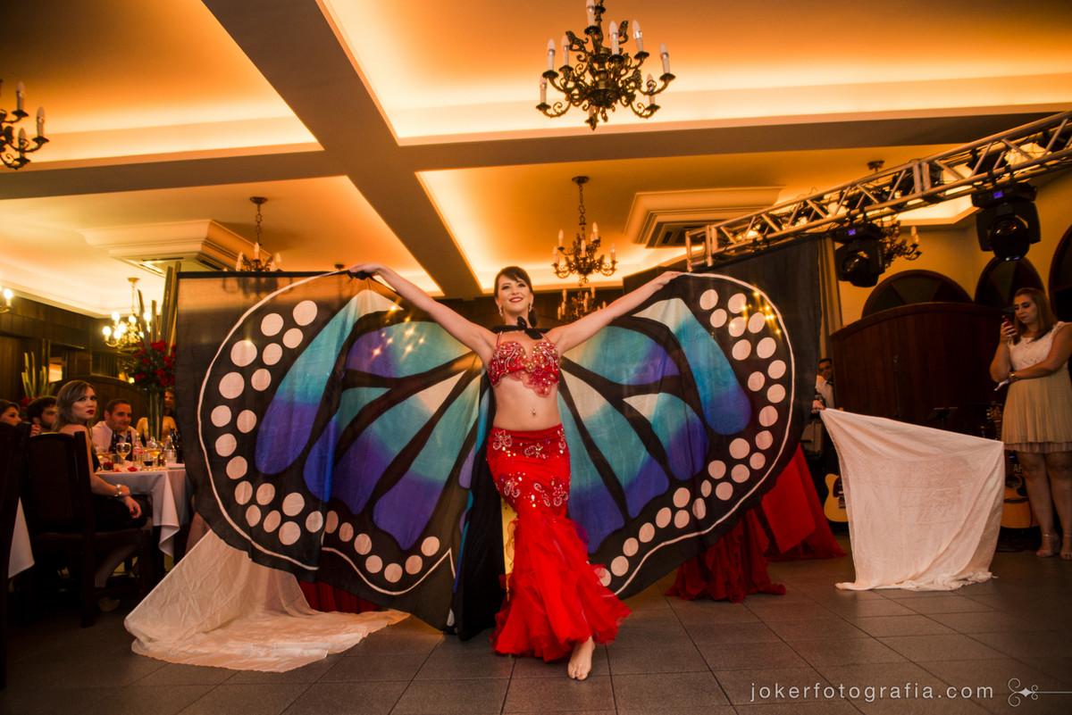 dança do ventre borboleta