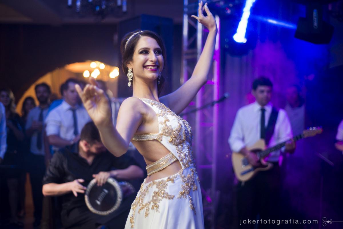 noiva dançarina