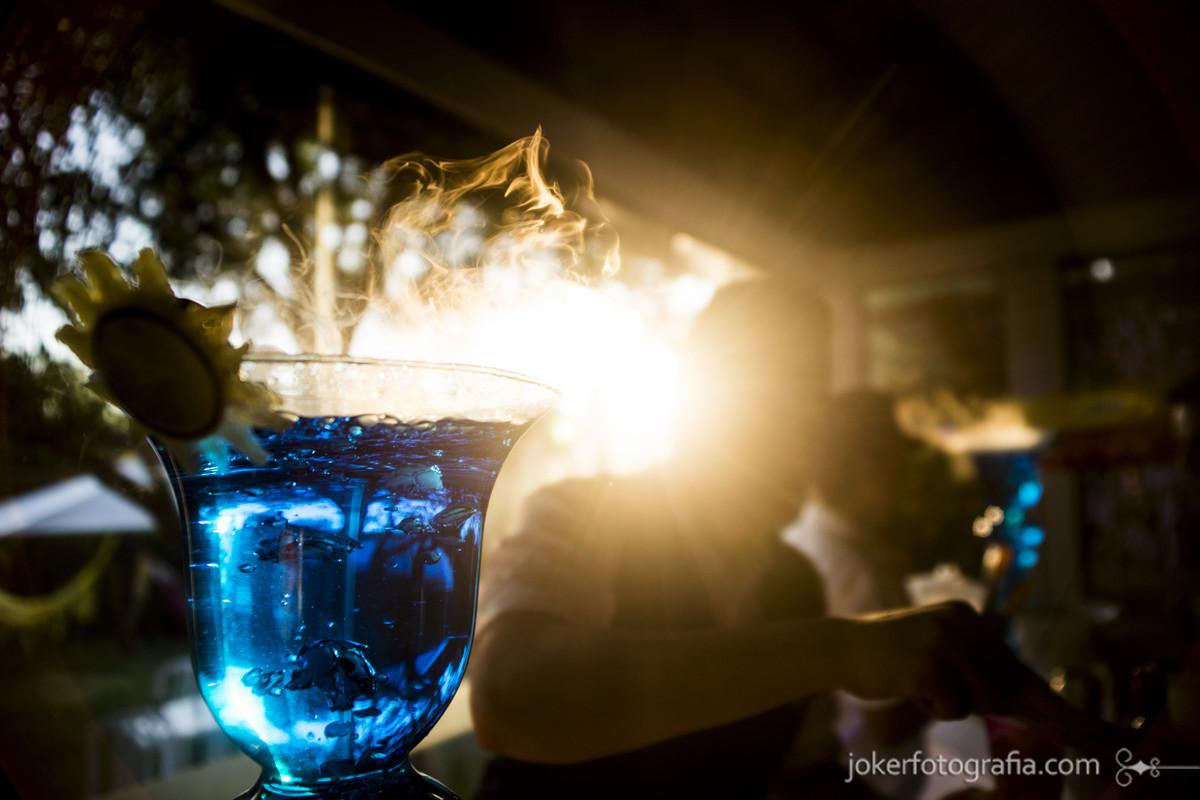 bartenders curitiba em festa no final de tarde