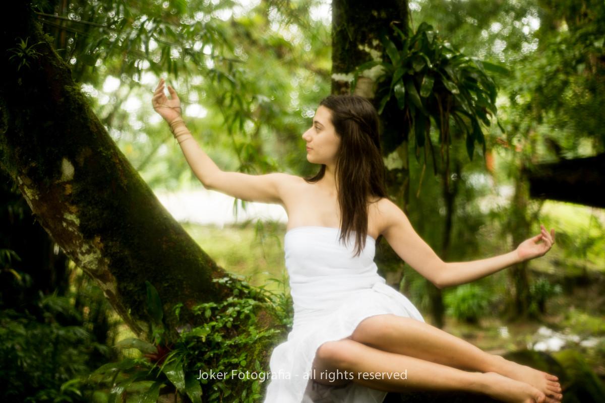 ensaio com bailarina