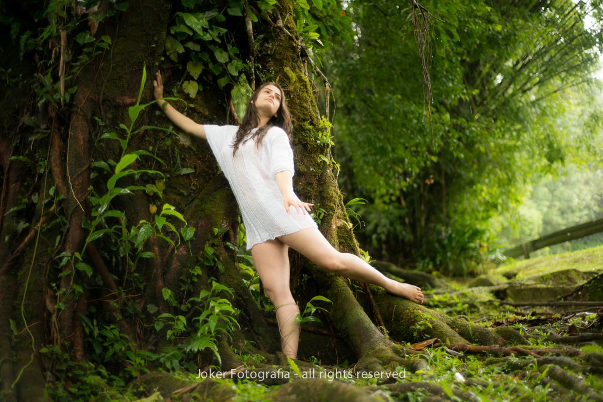 bailarina na floresta ensaio lúdico