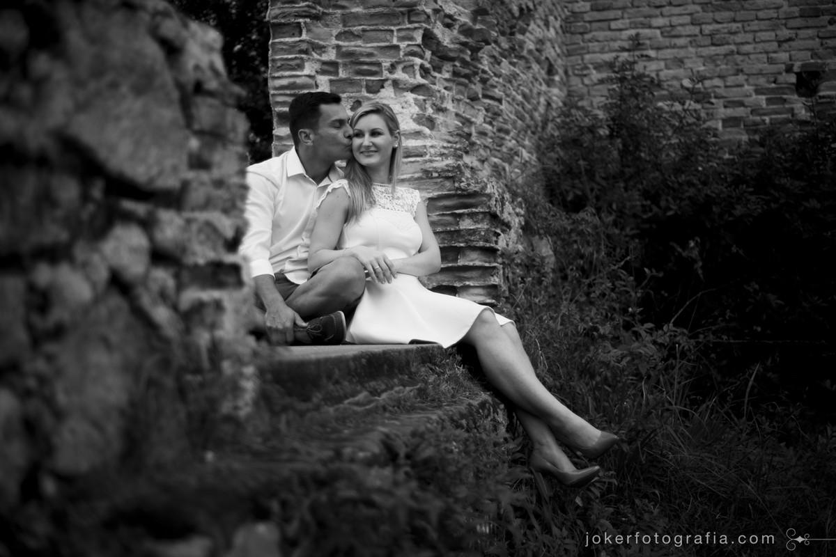 fotografia de casamento nas ruinas de antonina