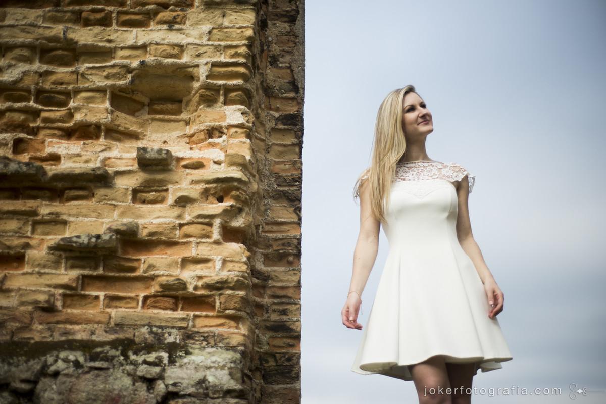 vestido de noiva menininha