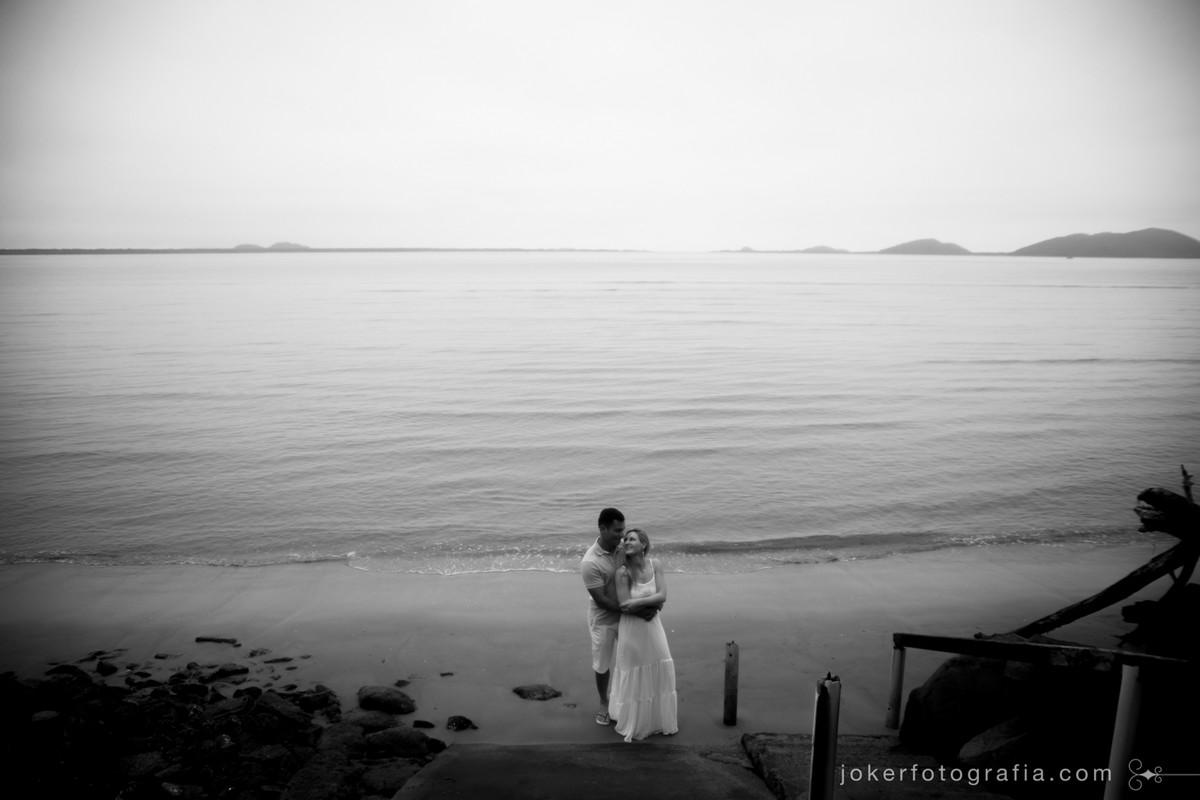 ensaio de casamento na praia