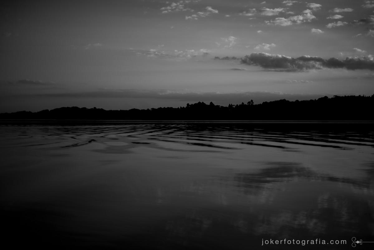 fotografia de paisagem lago