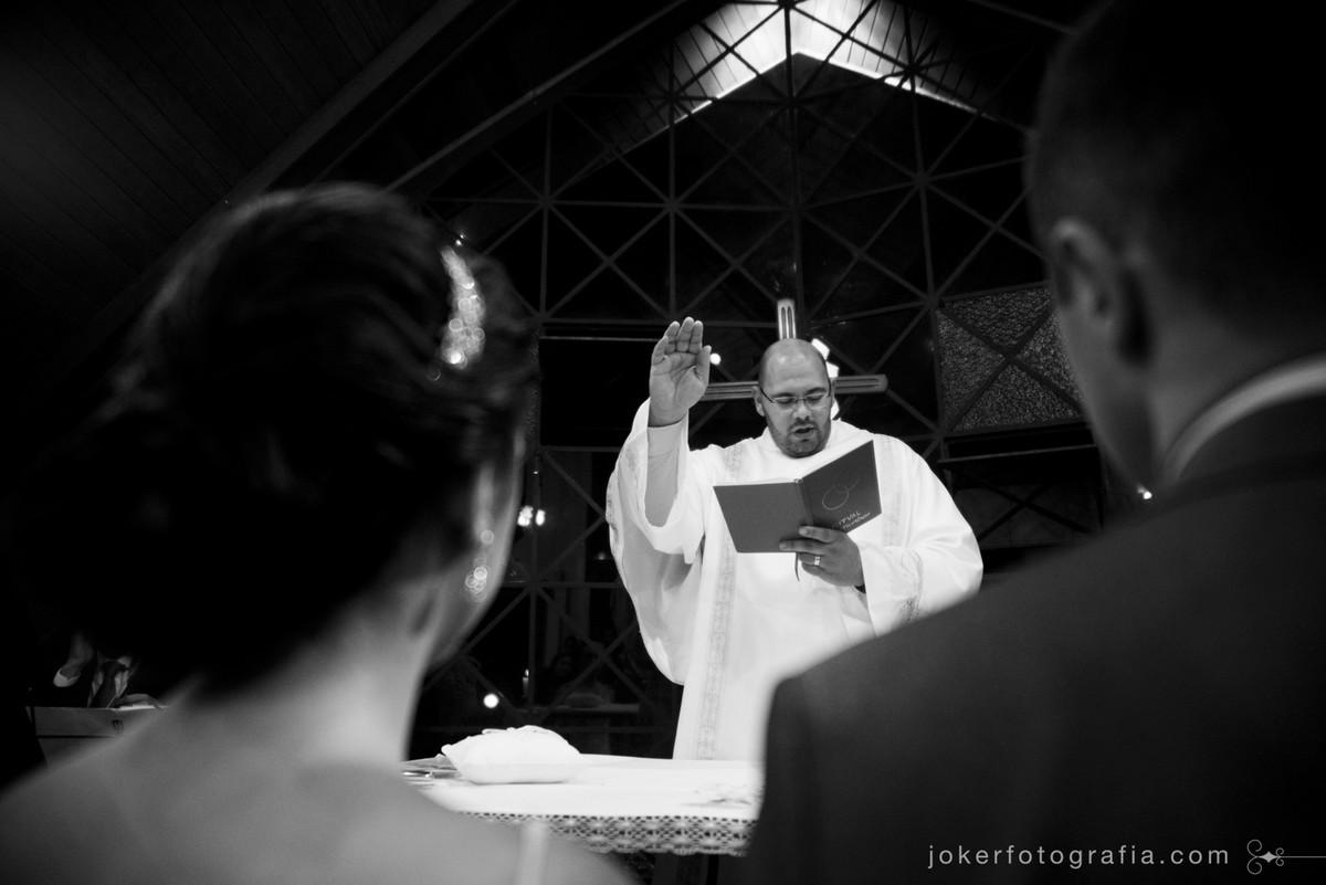 celebração de casamento católica padre da igreja nossa sra de salete
