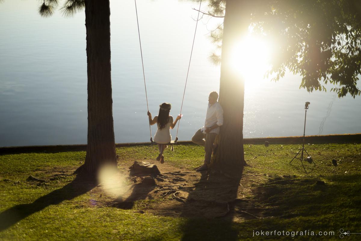 preparativos para um pedido de casamento com muita emoção