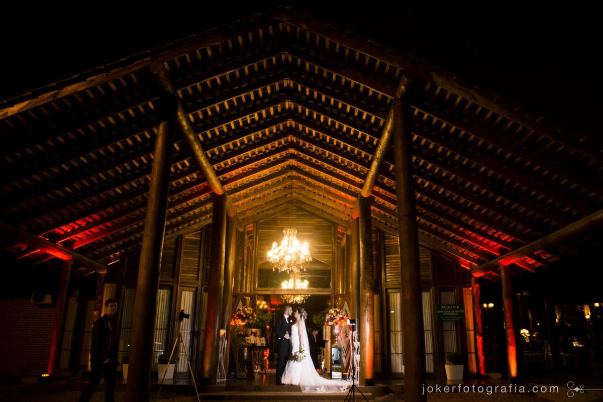 casamento a noite no salão CTB do santa mônica clube de campo