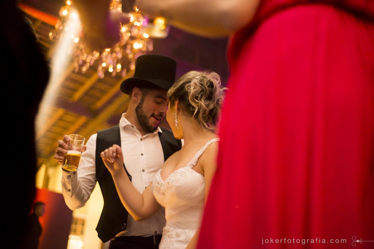 hora do baile no casamento