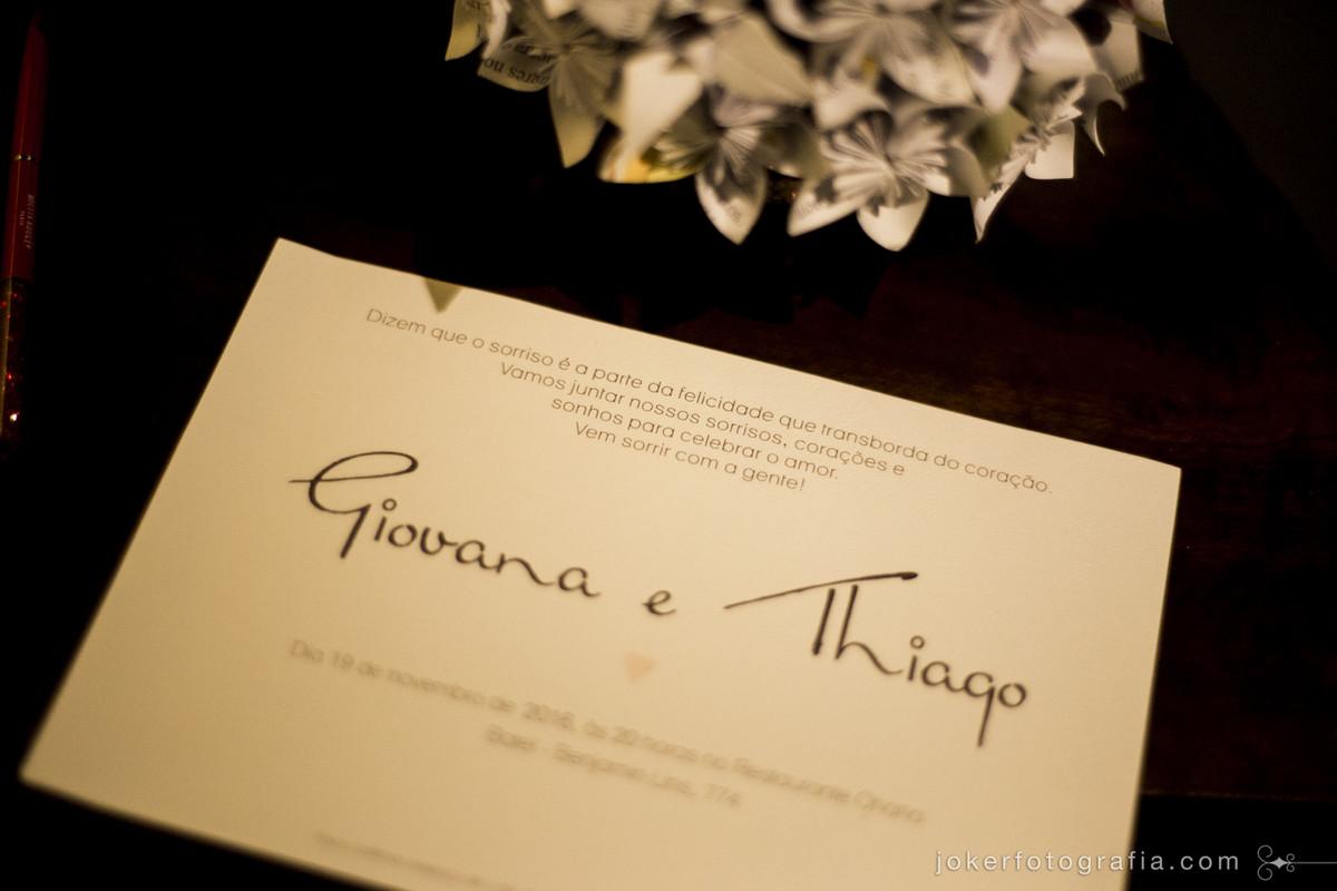 frase para convite de casamento