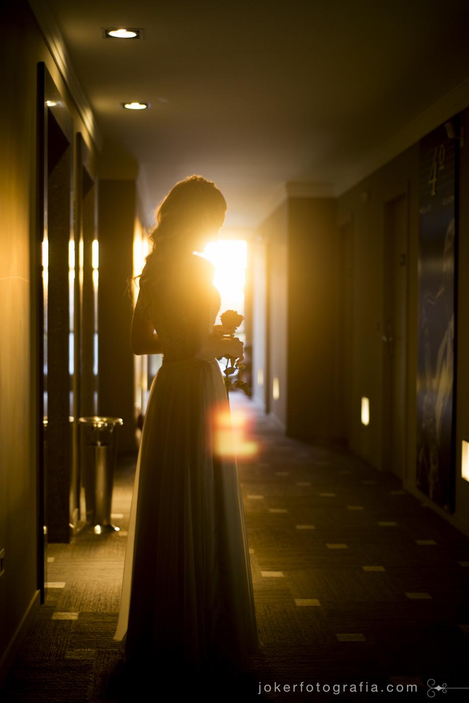 noiva no hotel full jazz em curitiba