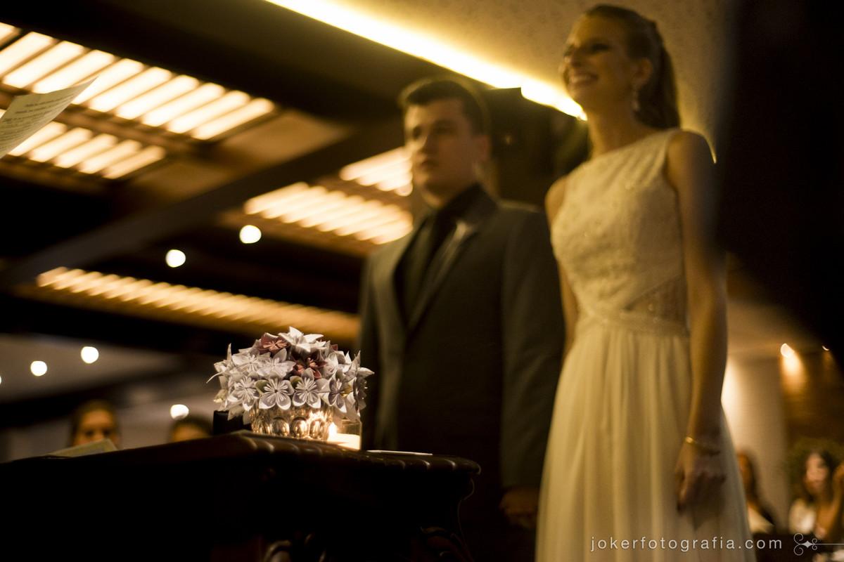 cerimonia de casamento no restaurante ohana batel em curitiba