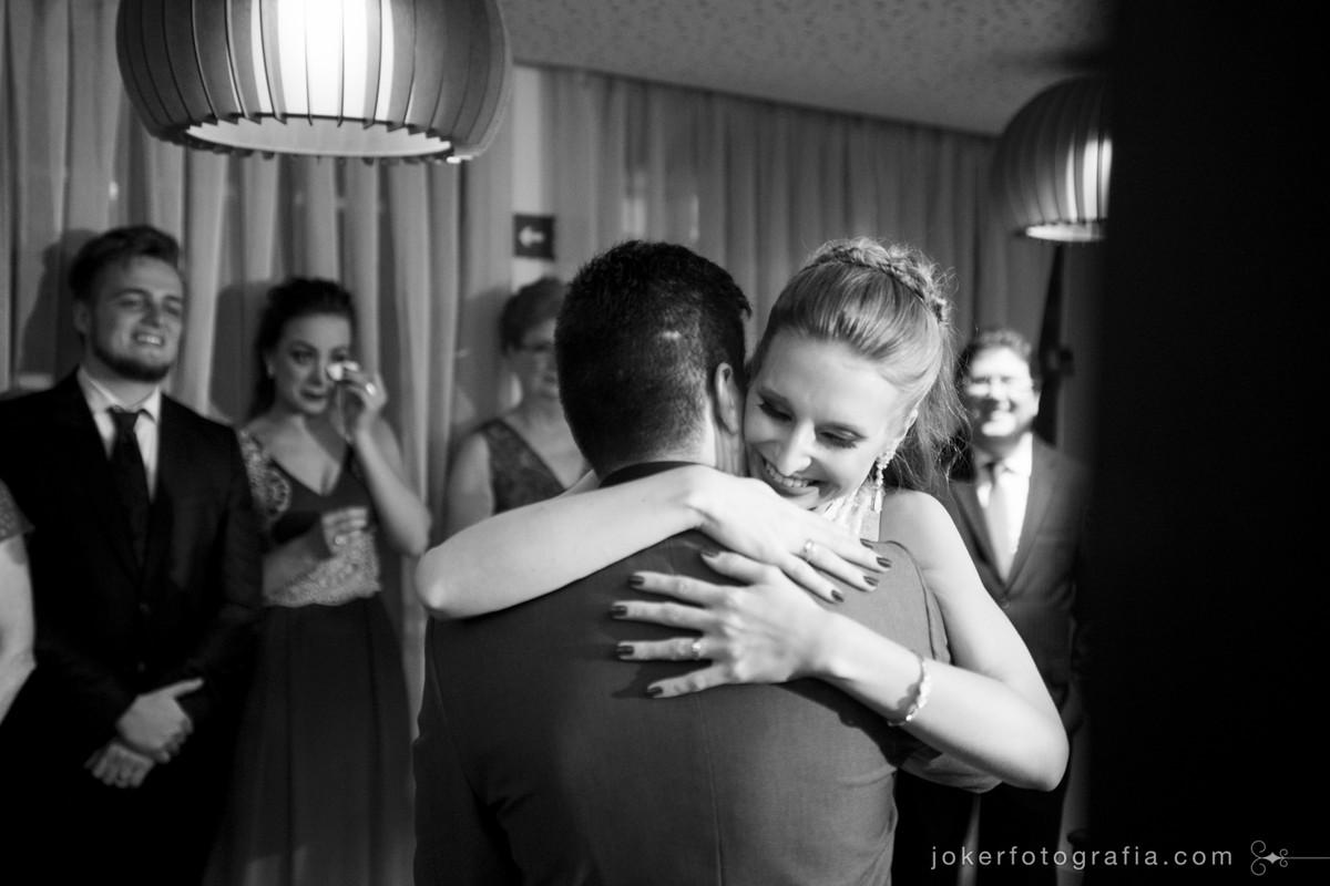ideias de fotos durante a cerimonia de casamento