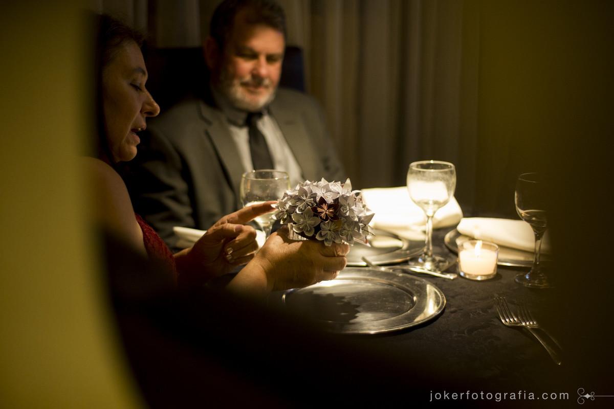 decoracao de casamento feita pelos noivos