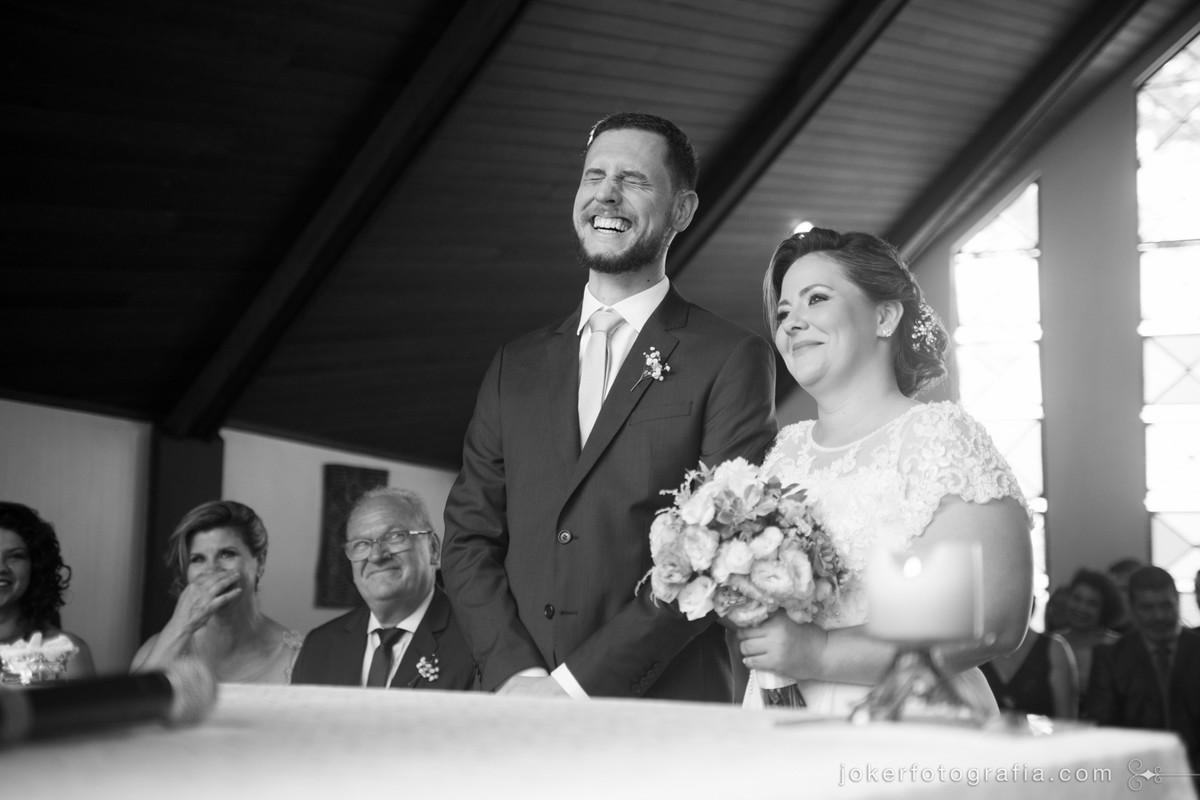 como tornar a cerimônia de casamento mais informal e descontraída?