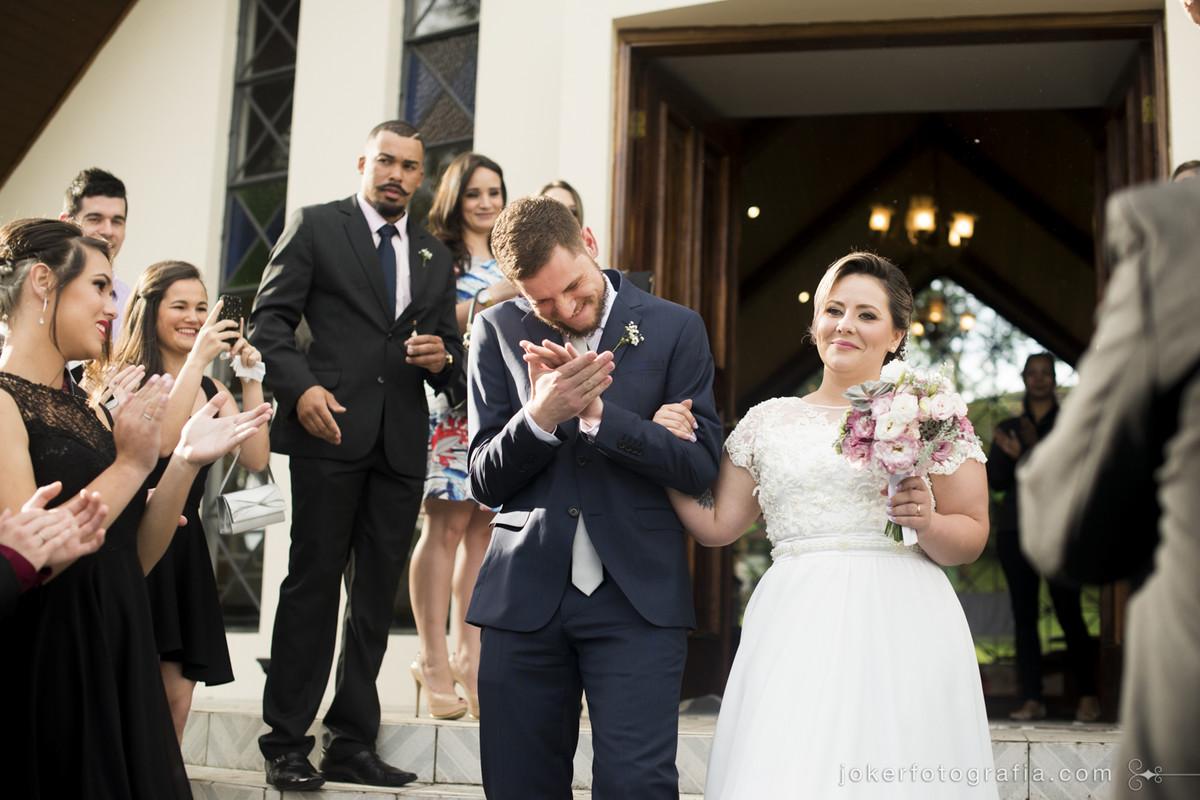 saida dos noivos igreja nossa senhora de salette