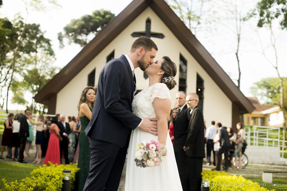 capela nossa senhora de salette recebe o casamento mais lindo do mundo