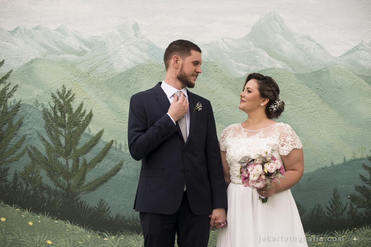 painel para casamento divertido e vintage