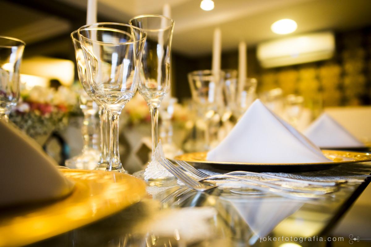 como escolher o jantar no dia do casamento