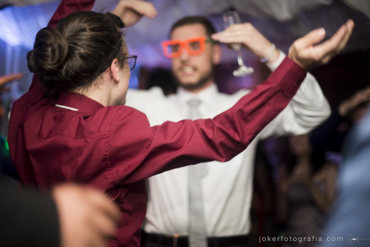 festa de casamento espontanea