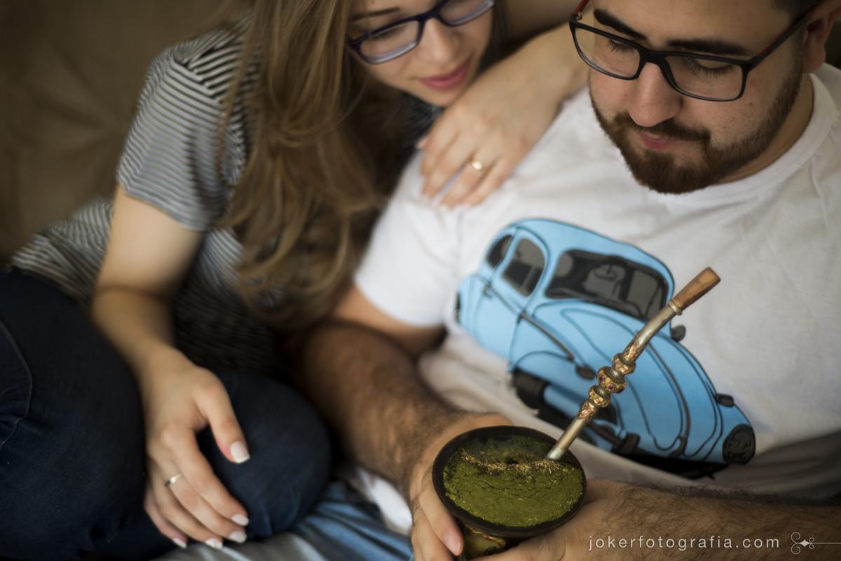 ensaio new home no rio grande do sul mostra casal gaúcho no seu cotidiano