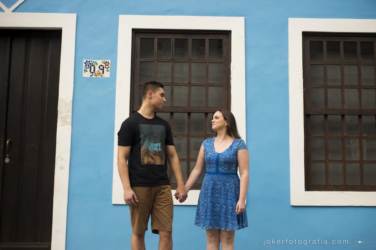 ensaio de casal em cidade histórica de santa catarina