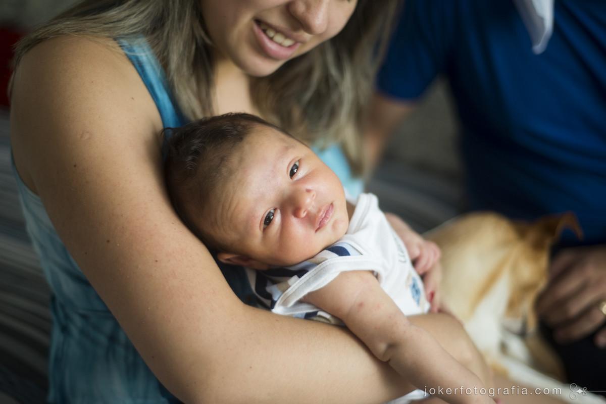 ensaio de família com bebê recem nascido