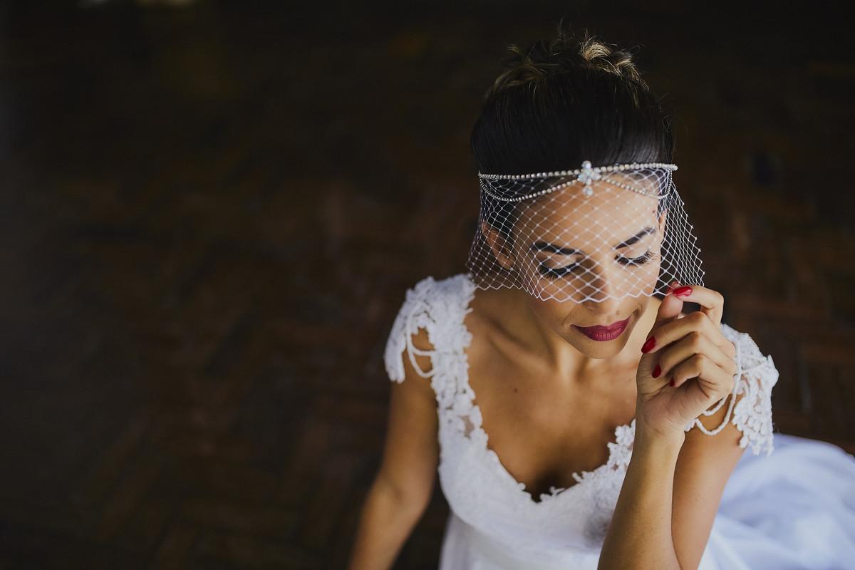 acessorio de noiva diferente