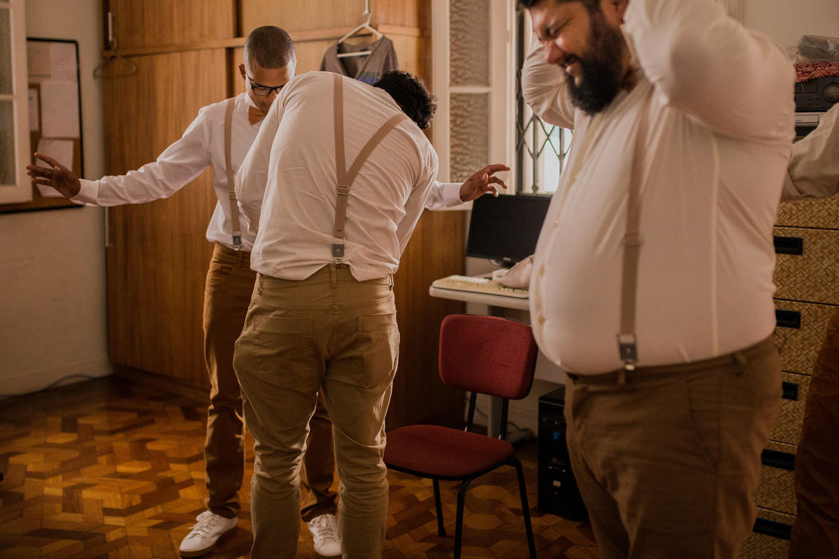 making of noivo divertido casamento escola de artes tear rio de janeiro