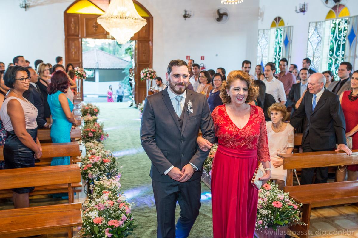 a entrada do noivo, mae do noivo, marcelovillasboas, entrada do noivo,
