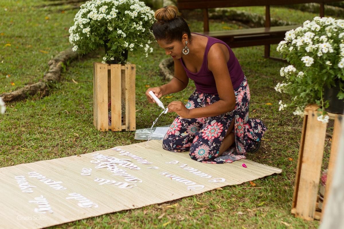 fotografia casamento Bom Jardim, making of da noiva, casamento no campo, família no casamento