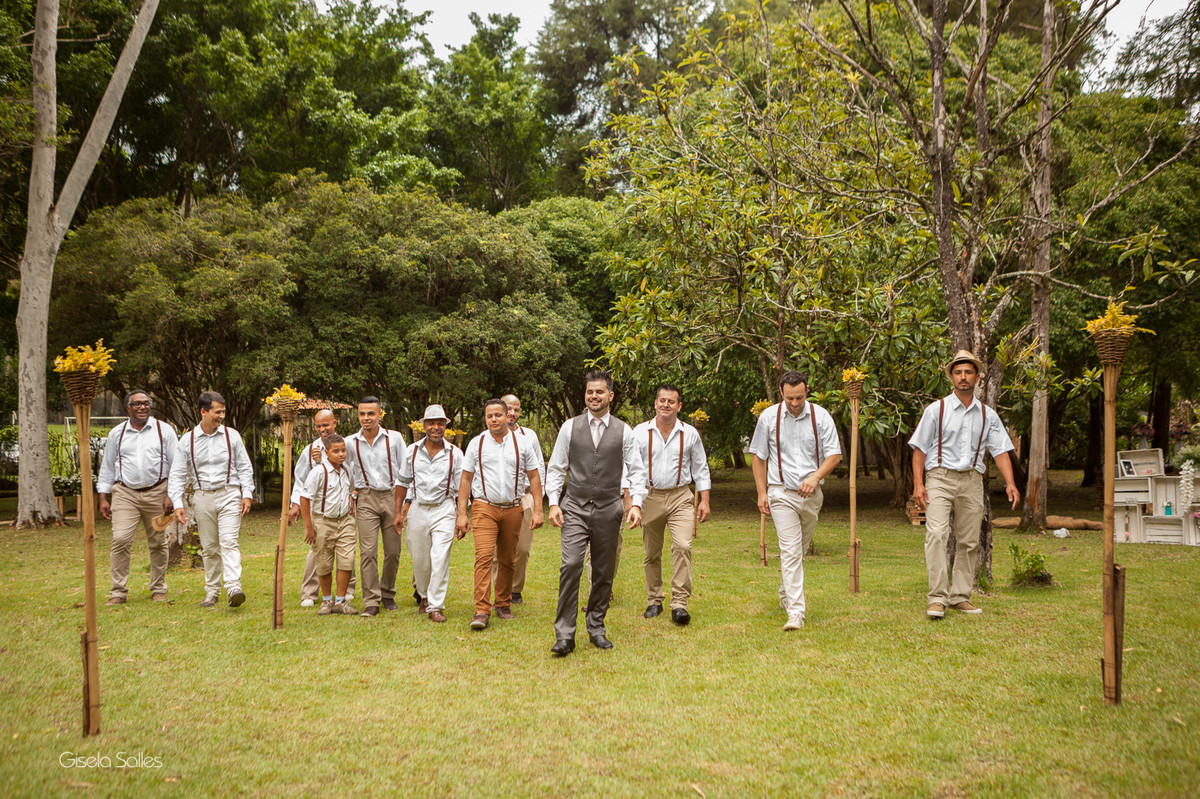 fotografia casamento Bom Jardim, casamento de dia no campo, casando no sítio, padrinhos no casamento