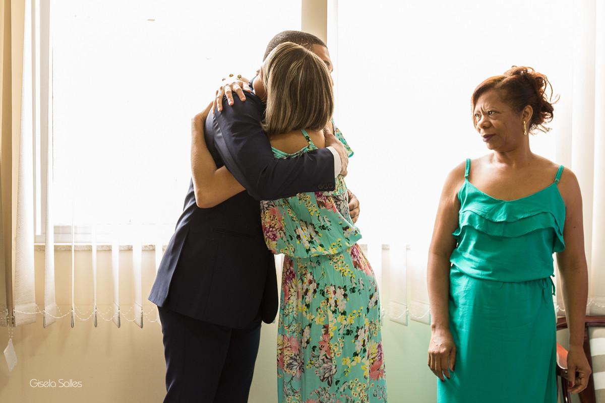 making of do noivo, noivo com a família, Macuco, fotografia de casamento
