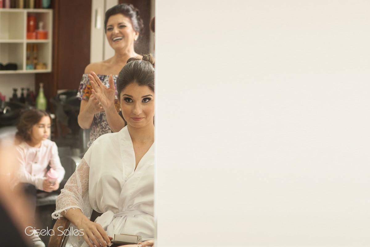 Making of da noiva,noiva e mãe de noiva