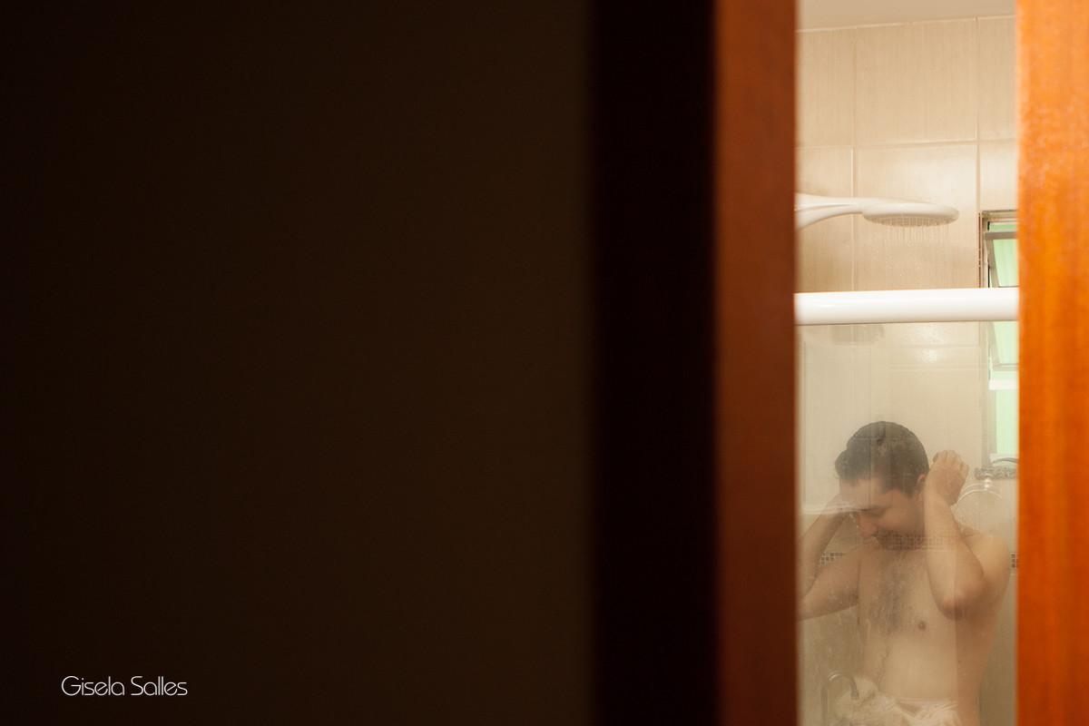 Fotografia Gisela Salles,fotografia de casamento, making of do noivo