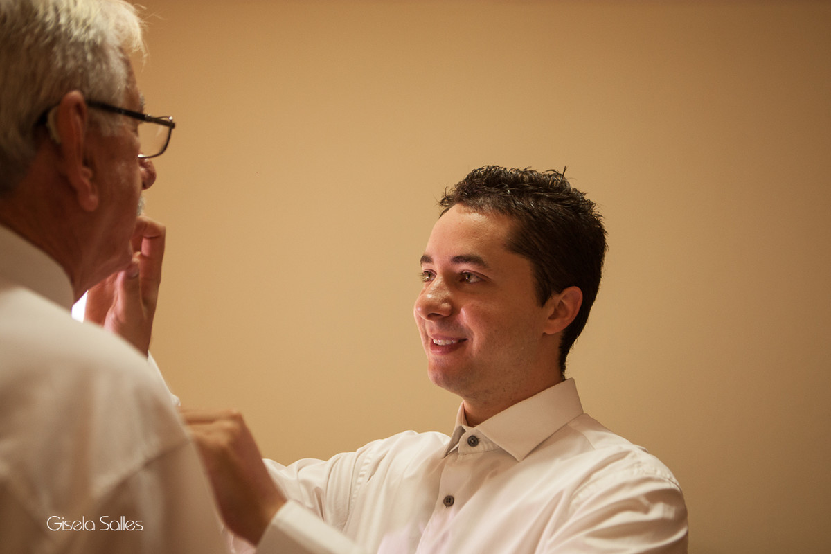 Fotografia Gisela Salles,fotografia de casamento,  making of do noivo,