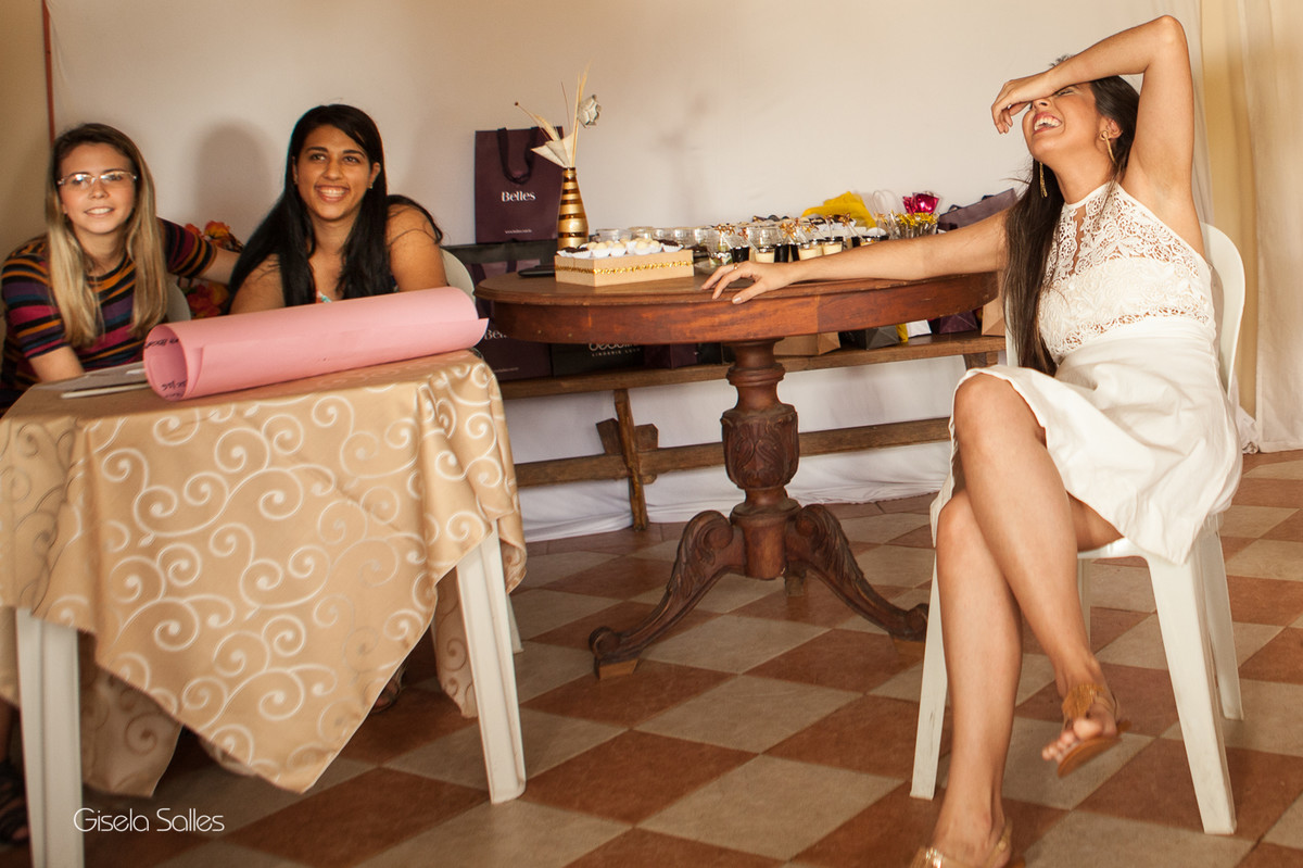 Fotografia de chá de lingerie, chá de lingerie da noiva, fotografia Gisela Salles, chá da noiva